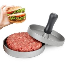 EOZY Aluminium Hamburger Press BBQ Gill Stuffed Burger Hamburguer Presser Pattis Beef French Meat Maker Mold Cooking Tool Kitchenware - intl