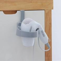 ERA Portable Door Hook Hair Dryer Organizer Plastic Hair Dryer Rack For Home Hotel - intl