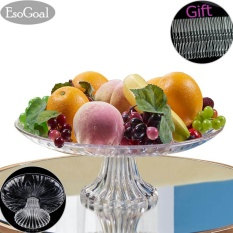 Jual Esogoal Acrylic Plate For Buah Kue Desserts Candy Buffet Berdiri For Rumah Party With Gratis 50 Pcs Buah Garpu Ori
