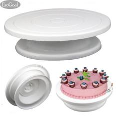 Jual Jvgood Cake Turntable Revolving Cake Decorating Turntable Cake Stand Jvgood Asli