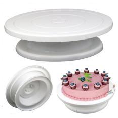 Spesifikasi Esogoal Cake Turntable Revolving Cake Decorating Turntable Cake Stand Terbaik