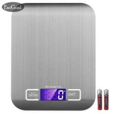 Diskon Produk Esogoal Digital Skala Dapur Multifungsi Skala Makanan 11 Lb 5 Kg Hitam Stainless Steel Intl