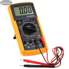 EsoGoal Digital Multimeter, Electronic Volt Amp Ohm Meter Multimeter with Diode and Continuity Test, LCD display, Measures Voltage, Current, Resistance, Capacitance, Frequency
