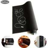 Toko Esogoal Fancy Fix Removable Decorative Blackboard Chalkboard Wall Sticker Decal Hitam Intl Online