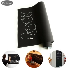 Katalog Esogoal Fancy Fix Removable Decorative Blackboard Chalkboard Wall Sticker Decal Hitam Intl Esogoal Terbaru