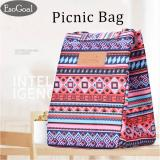 Cara Beli Esogoal Insulated Lunch Bag With Velcro Closure Thickened Tote Cooler Bag For Picnic Sch**l Travel Lunch Box