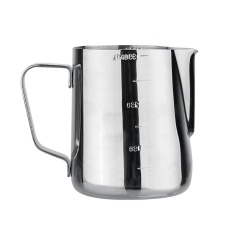 Espresso Coffee Milk Cup Pots Thermo Steaming Frothing Pitcher 350Ml Intl Tiongkok