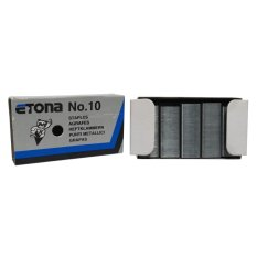 Etona Staples Chisel Pointed No. 10 [10 Pcs]