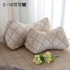 Eropa Bone Bantal Triangle Back Lumbar Bantal Kantor Sofa Bantal Bantal North Canton Tidak Percaya Pada Air Mata-Intl