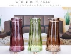Eropa Kaca Warna Jade Vase Anggrek Meja Ruang Tamu Kamar Tidur Dekorasi Kerajinan Dekorasi-Intl