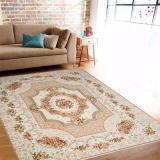 Promo Gaya Eropa Bahan Polyester Non Slip Living Kamar Tidur Sofa Meja Lantai 1 3X1 9 Meter Mats Rugs Dan Karpet Beige Intl Oem