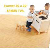 Jual Evamat Alas Lantai Bambu Bamboo 30 X 30 Satu Set