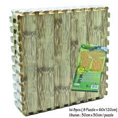 Evamat Alas Lantai Puzzle Motif - Bambu Muda [ 60cm x 120cm ]