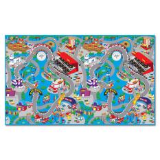 Evamat Karpet Anak Race Track Mobil-mobilan - Biru