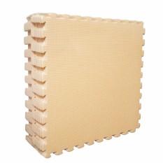 Evamat - Polos / Alas Lantai Modern / Mats Aman Untuk Anak Bermain - Cream