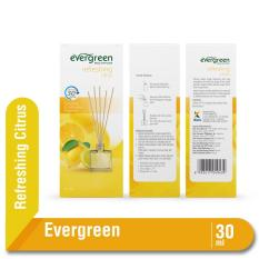 Evergreen Reed Diffuser Set Refreshing Citrus 30 ml