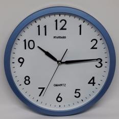 Jam Dinding Standart - Biru (Quartz)