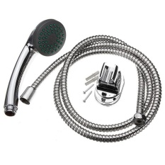 Excellent Quality Multi Function Chrome Shower Mixer Set Shower Head Hose Replacement Bathroom