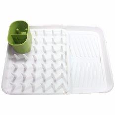 Expandable Dish Rack - Rak Dan Pengering Piring Dan Gelas