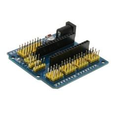Papan Ekspansi Modul untuk ARDUINO NANO UNO Pengembang Board dengan Kuning Pin (Biru)-Intl
