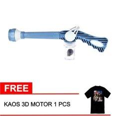 EZ Jet Water Canon Pressure - Alat Penyemprot Air + Gratis Kaos Motor 3D
