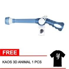 EZ Jet Water Canon Pressure - Alat Penyemprot Taman - Biru + Free Kaos Animal 3D 1 Pcs
