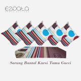 Toko Ezpata Set Sbk 5 Sarung Bantal Kursi Taplak Meja Tamu Motif Gucci Lengkap