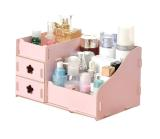 Harga Ezy Candy Colored Diy Wooden Organizer Drawer Pink New