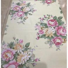 F103 wallpaper sticker bunga 45cm x 10m wallpaper dinding