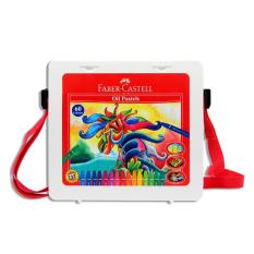 Faber Castell Crayon Hexagonal Oil Pastel 60 Pcs With Plastic Bag Original