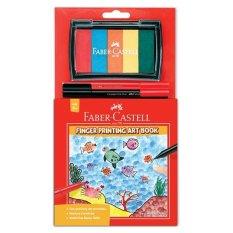 Harga Faber Castell Finger Printing Art Book Dengan 5 Warna Di Indonesia