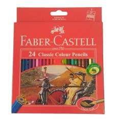 Faber Castell - Pensil Warna faber castell Classic 24w