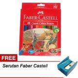 Spesifikasi Faber Castell Pensil Warna Classic 48W Beserta Harganya