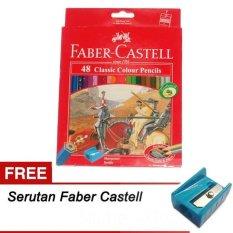 Faber Castell Pensil Warna Classic 48W Indonesia Diskon 50