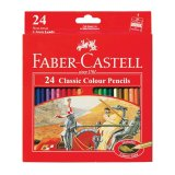 Toko Faber Castell Pensil Warna Classic Colour Pencils Long 24 Pcs Terdekat