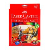 Jual Faber Castell Pensil Warna Classic Colour Pencils Long 48 Pcs Faber Castell Original
