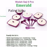 Review Tentang Family Set Asvita Set Emerald Set Wadah Saji Makanan Set Unggu