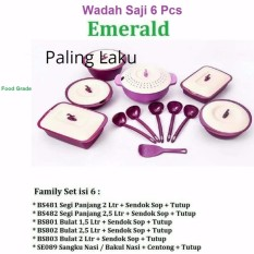 Jual Family Set Asvita Set Emerald Set Wadah Saji Makanan Set Unggu Paling Laku Murah