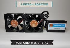 Fan Kipas Dengan Adaptor Untuk Mesin Tetas