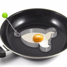 Fancyqube 1 Piece!!! Baja Anti Karat Goreng Telur Pembentuk Telur Goreng Cetakan Panekuk