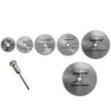 Toko Fancytoy 6 Pc Rotary Circular Saw Blades Alat Cutting Discs Mandrel For Dremel Cutoff Intl Online Terpercaya