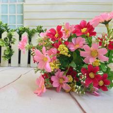 Fang Ang Cineraria Palsu Bunga Buatan Buket Bunga Pesta Rumah Penyiangan  Dekorasi Set 1 Bunch  d24682c14f