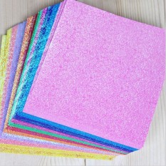 Fang Fang 50pcs/pack Square Origami Paper Color Papers Kids Handmade DIY Scrapbooking Craft Paper