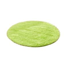 Fangfang Stylish Absorbent Soft Memory Foam Bathroom Floor Shower Mat Rug Non-slip-Green - intl