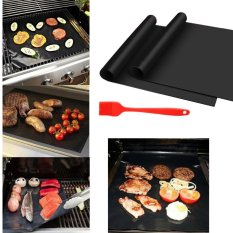 Diskon Fantastis Bunga Bbq Grill Mat Set 2 Pack Non Stick Pad Untuk Gas Kompor Bake Goreng Goreng Goreng Intl Akhir Tahun