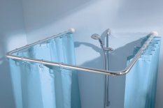 Fantasy Angular L/u Shapped Shower Rail By Fantasy.