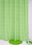 Review Pada Fantasy Textile Polyester Shower Curtain Grad Green Tirai Kamar Mandi