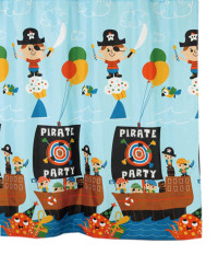 Harga Fantasy Textile Polyester Shower Curtain Panama Tirai Kamar Mandi Seken