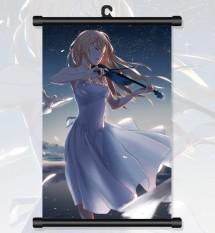Modis 1 Pcs 20*30 Cm Seksi Lie Anda Di Bulan April, Miyazono Kaori Solo, jepang Anime Dinding Poster-Internasional