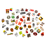 Tips Beli Fashion 50 Pcs Stiker Skateboard Vinyl Laptop Luggage Car Decals Mix Lot